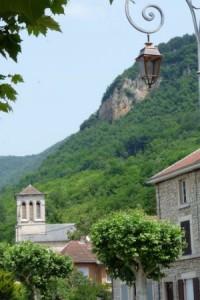 Eglise du village de Villebois